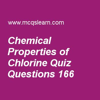 Learn quiz on chemical properties of chlorine a level chemistry chemical properties of chlorine quiz mcqs questions chemistry quiz answers 86 urtaz Image collections