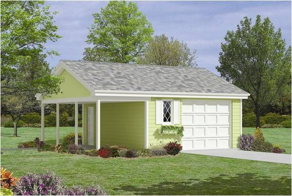 One Car Garage With Apartment Image Of The Outdoor