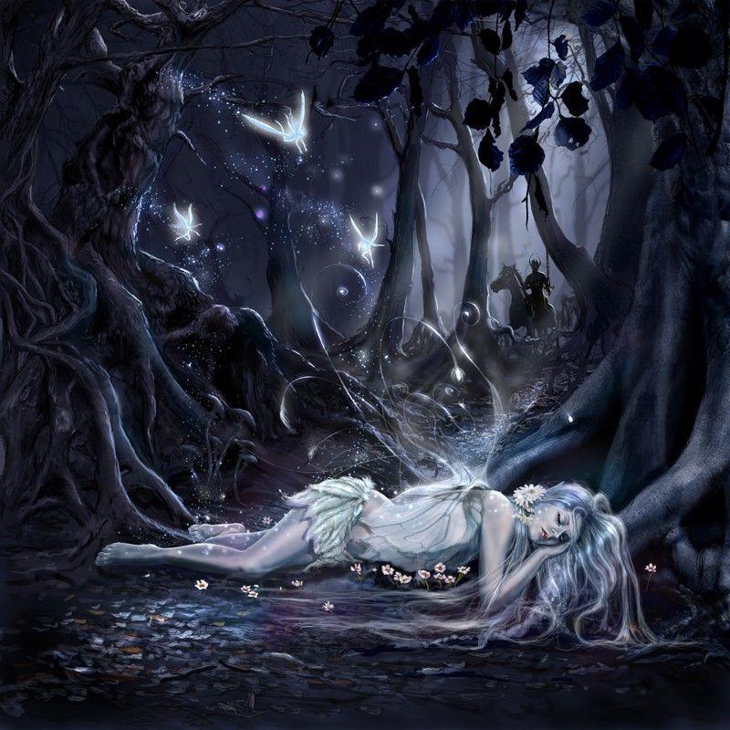 Beautiful Dark Art Beautiful Dark Art Paintings Sleeping