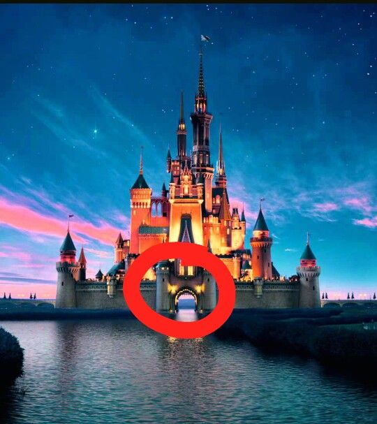Why Does Disney Have A River Right Through The Castle