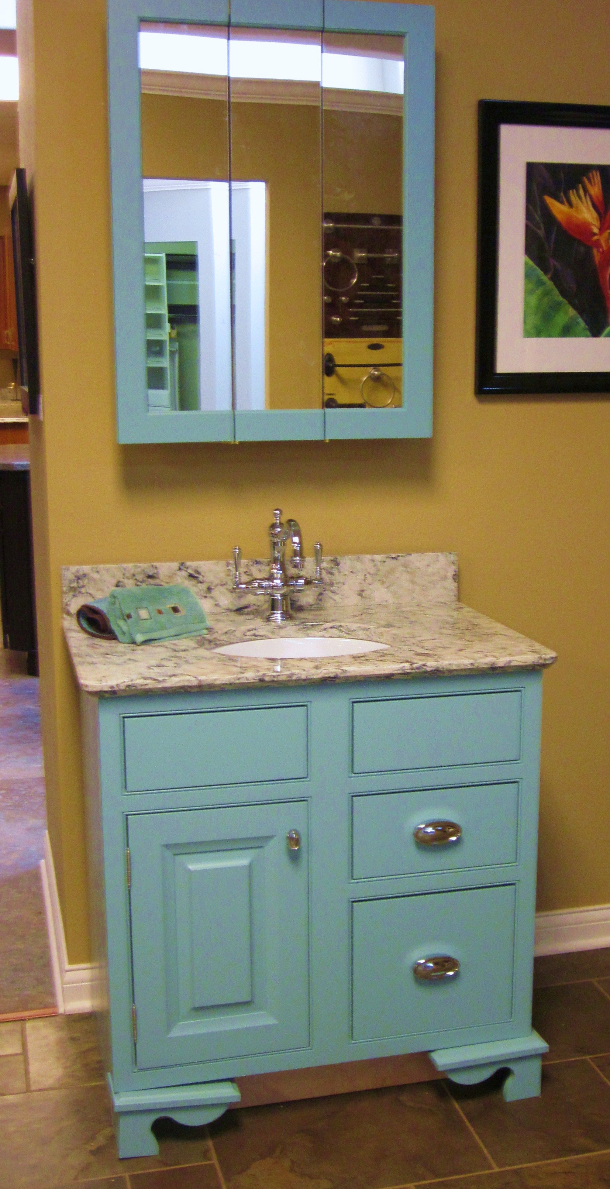 Decora Vanity And Cabinet With Cambria Quartz Top Decora