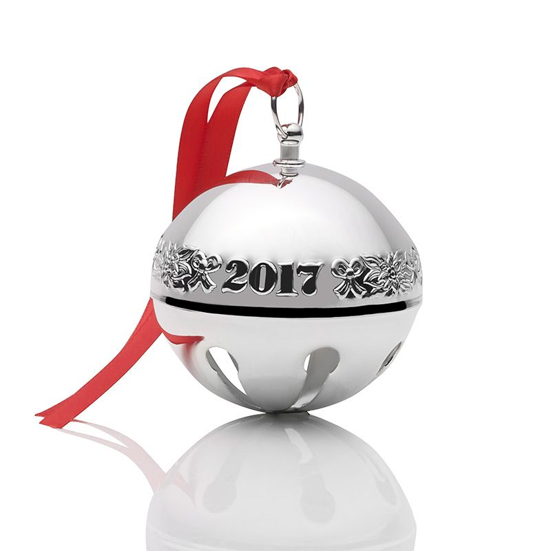 Wallace Sleigh Bell 2017 Christmas Tree Decoration Wallace