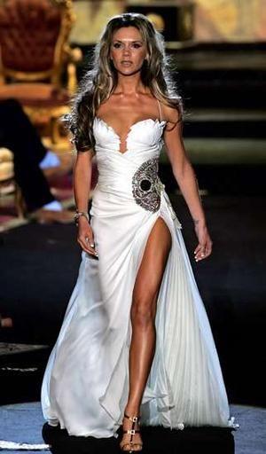 She Has A Skull On Her Wedding Dress