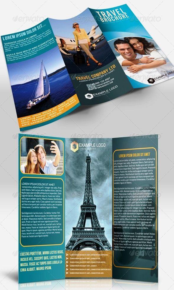 Contoh Brosur Tour Travel 15 Brochure \ Pamphlet Designs - travel brochure