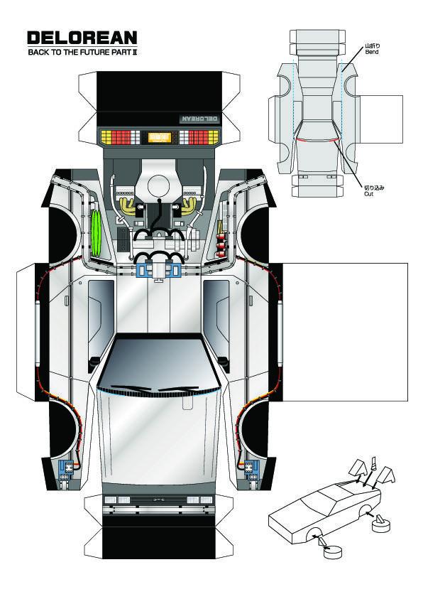 Maquetas para imprimir y armar en papel (megapost) | Sobres de ...