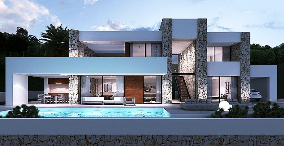 Nieuwbouw costa blanca mooie exclusieve villa in javea for Meubilair plaza huizen