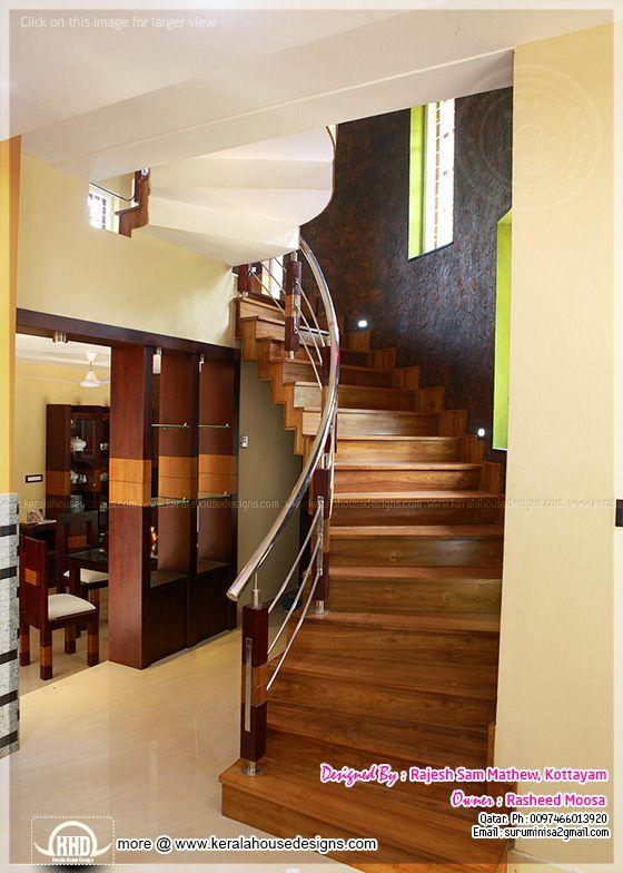 Kerala Interior Design With Photos In 2019 Staircase