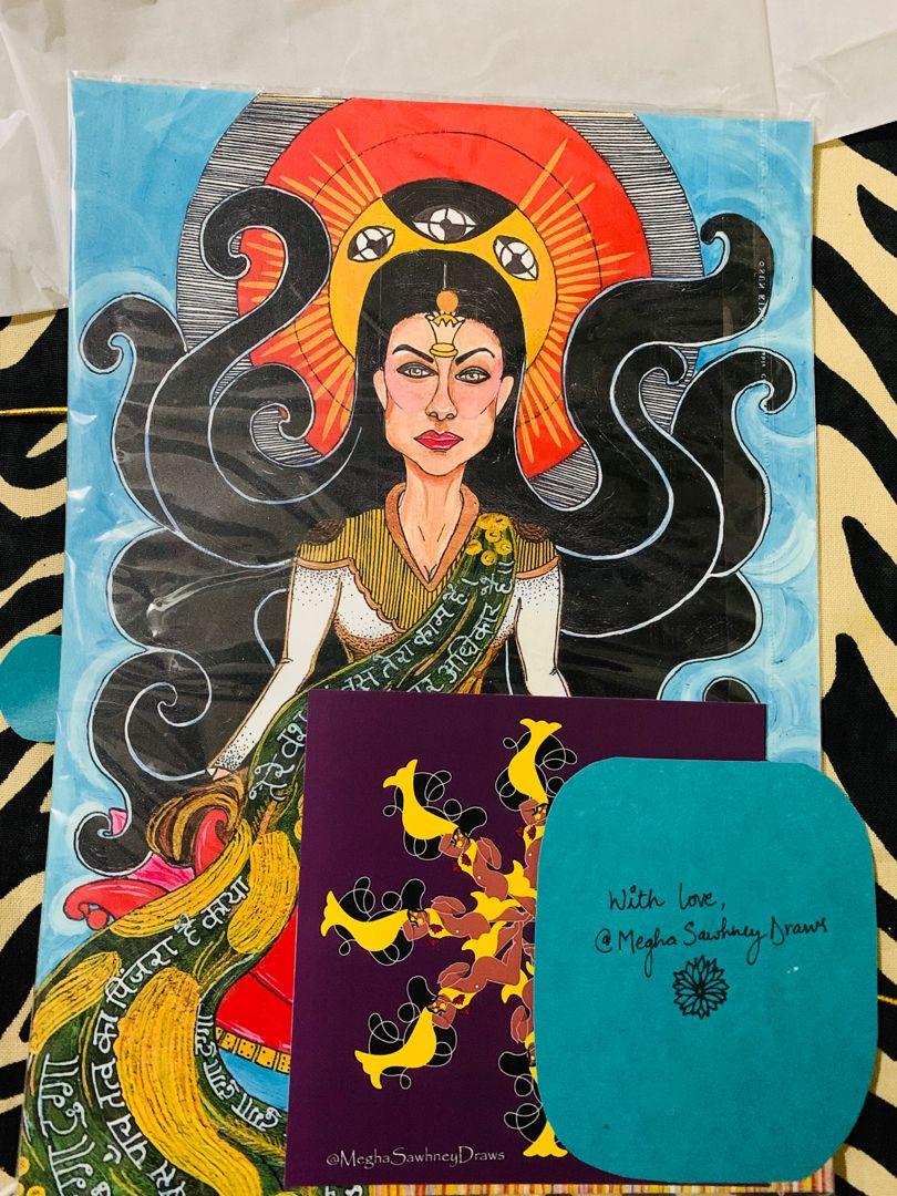 Limited Edition Prints getting ready for dispatch. ♥️🥰🌈 #printsforsale #fineartprints #matte #popartpainting #indianart #walldecorlivingroom #artdecor