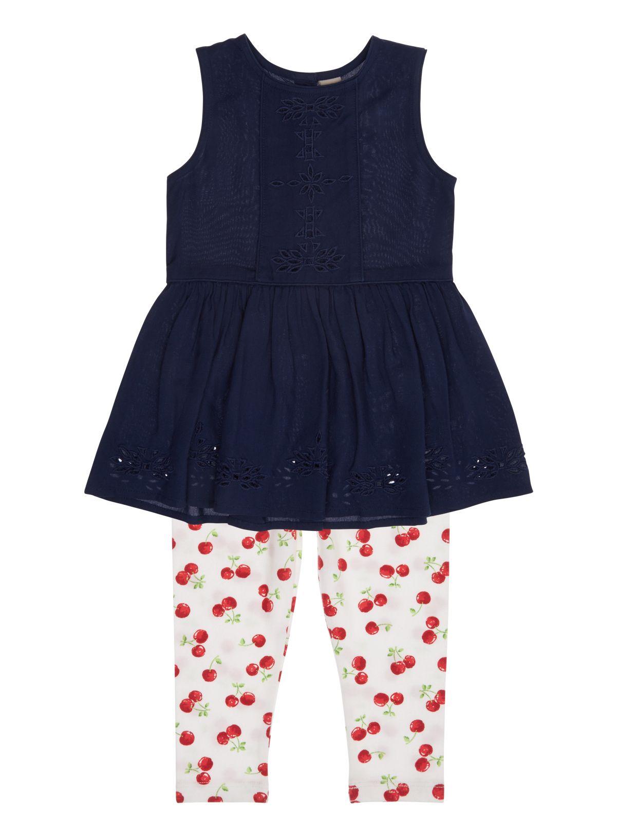 9 months - 5 years - Tu at Sainsburys Girls Navy Dress and ...