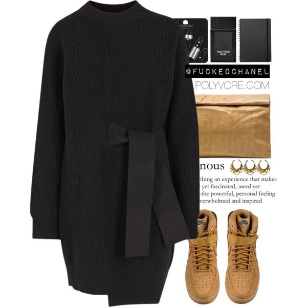 ... by fuckedchanel on Polyvore featuring moda, Proenza Schouler, Marie Turnor, Topshop, VidaKush, Tom Ford, Muji, NIKE, women's clothing and women's fashion
