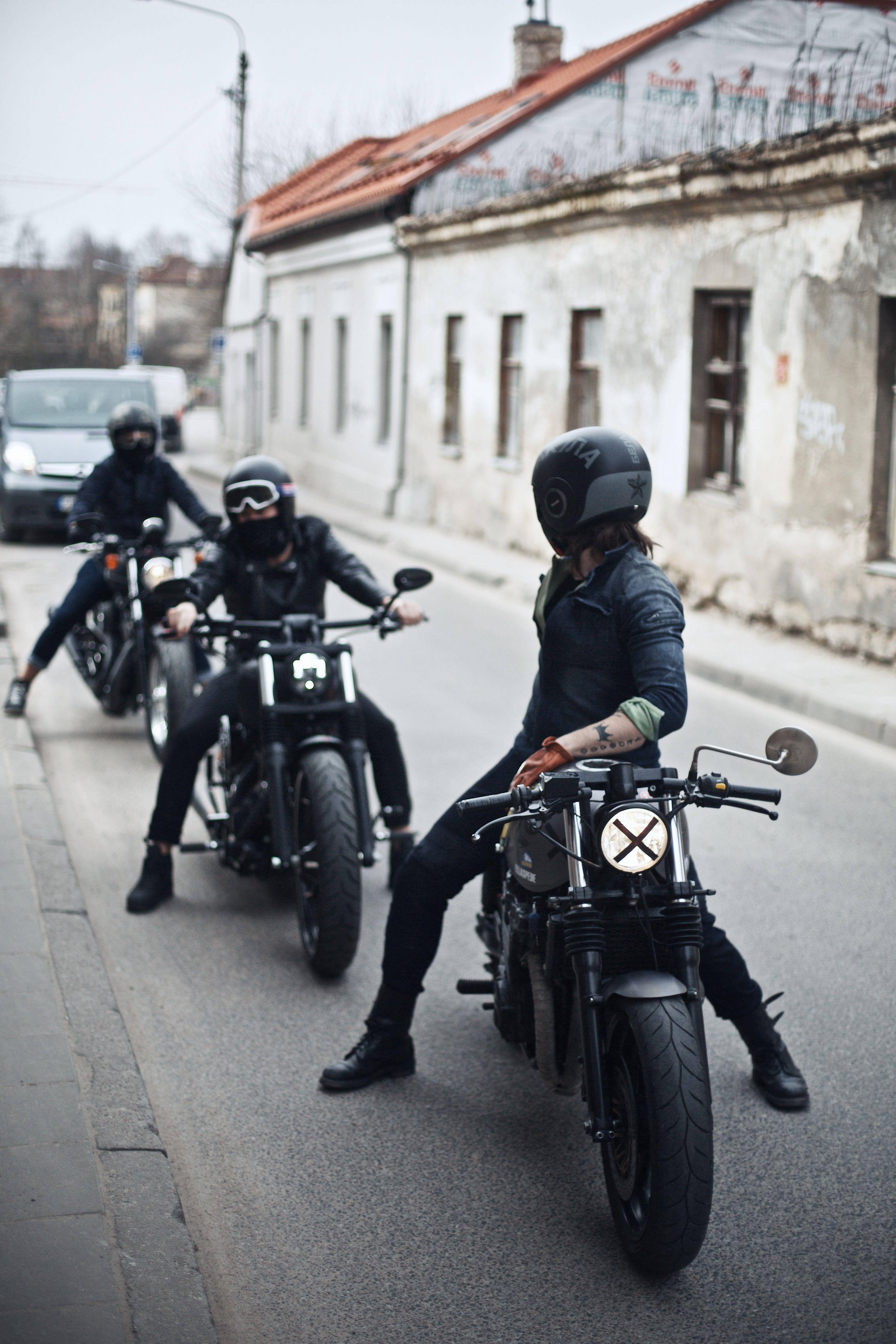 Harley Davidson Yamaha And Victory Motorcycles With Pando Ace Riders Motorcycles Riders Harleydavid Motorcycle Wear Victory Motorcycles Motorcycle Outfit
