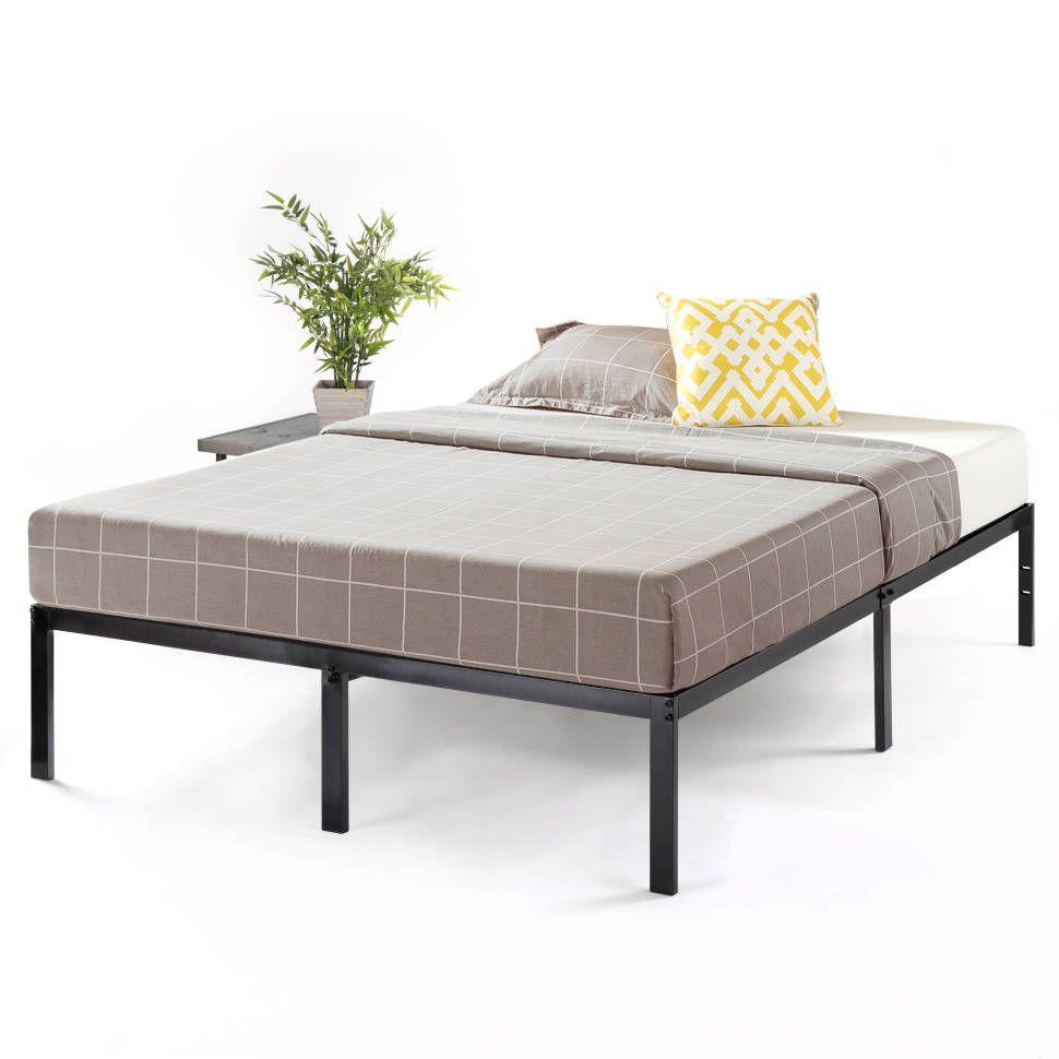 Abbey Bed Frame 14 Metal Platform Bed With Metal Slats Bed