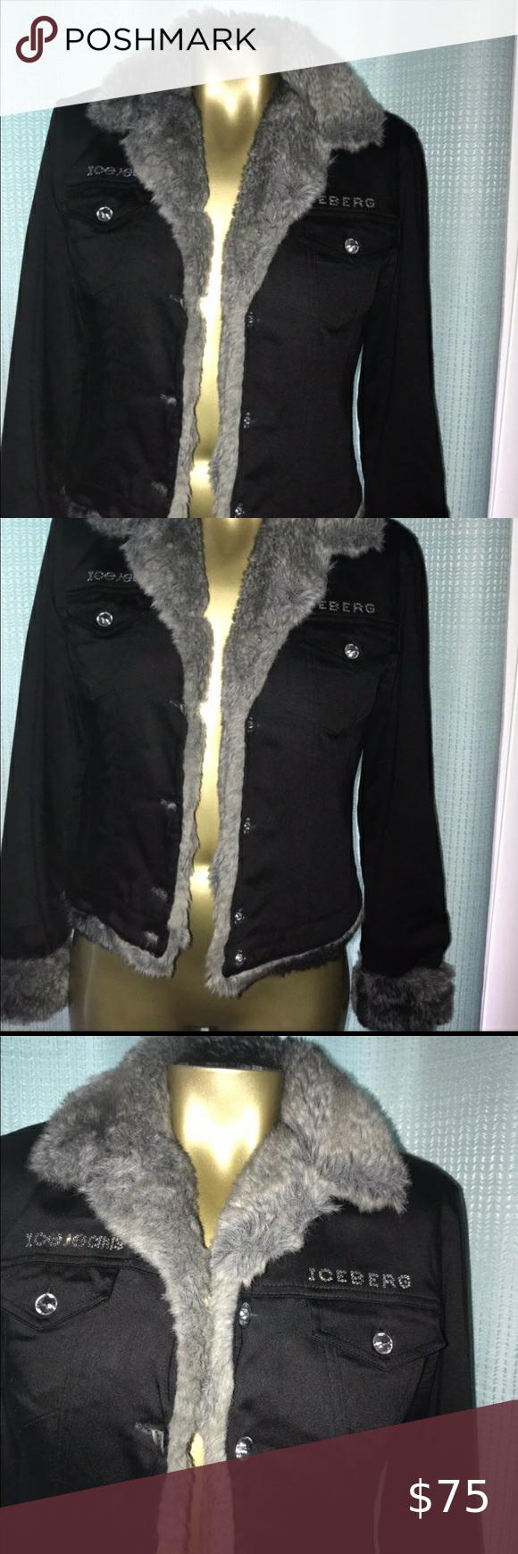 Iceberg Faux Fur Jacket Faux Fur Jacket Fur Jacket Jackets [ 1740 x 580 Pixel ]