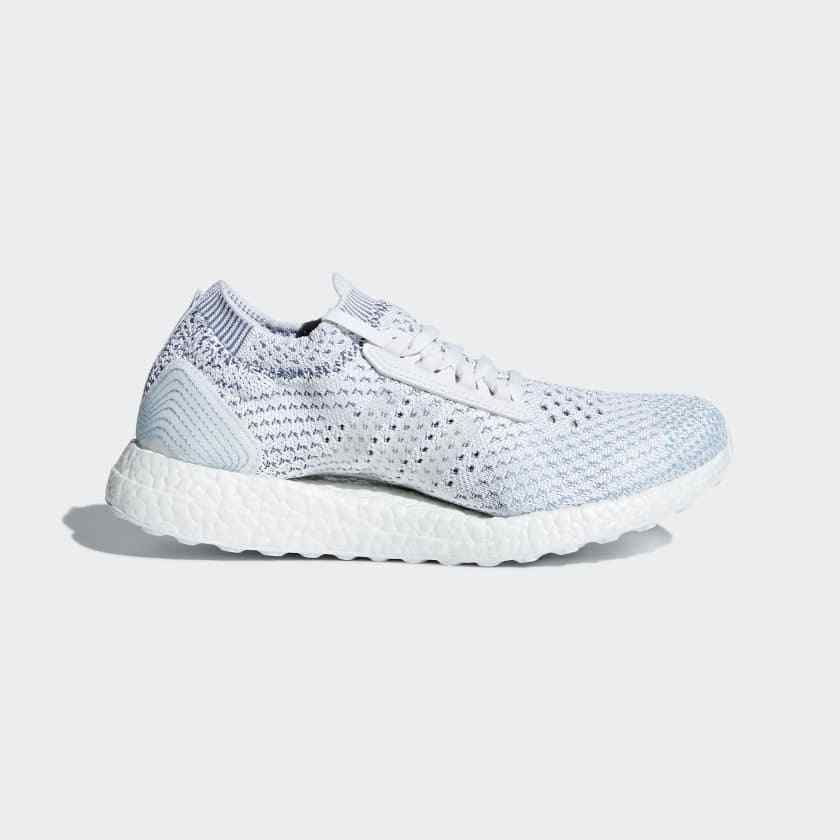 87f234c37 ADIDAS WOMEN S RUNNING ULTRABOOST X PARLEY LTD SHOES BB6308  WHITE SILVER BLUE  fashion  clothing  shoes  accessories  womensshoes   athleticshoes  ad (ebay ...