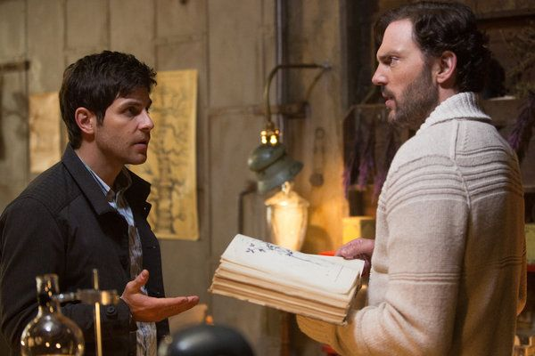 """GRIMM -- """"The Hour of Death"""" Episode 210 -- Pictured: (l-r) David Giuntoli as…"""