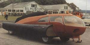 Sigvard Berggren's 'Future' Car, Sweden 1951