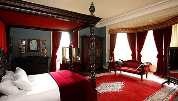 Image For Romantic Master Bedroom With Red Carpets Best Home Decor
