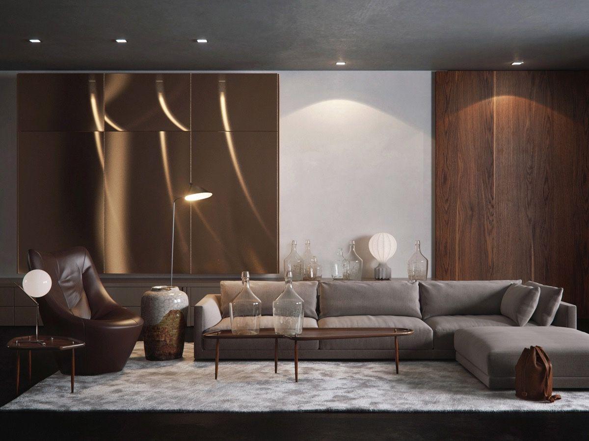 30 Living Rooms That Transcend Design Eras | Wohnzimmer ideen ...