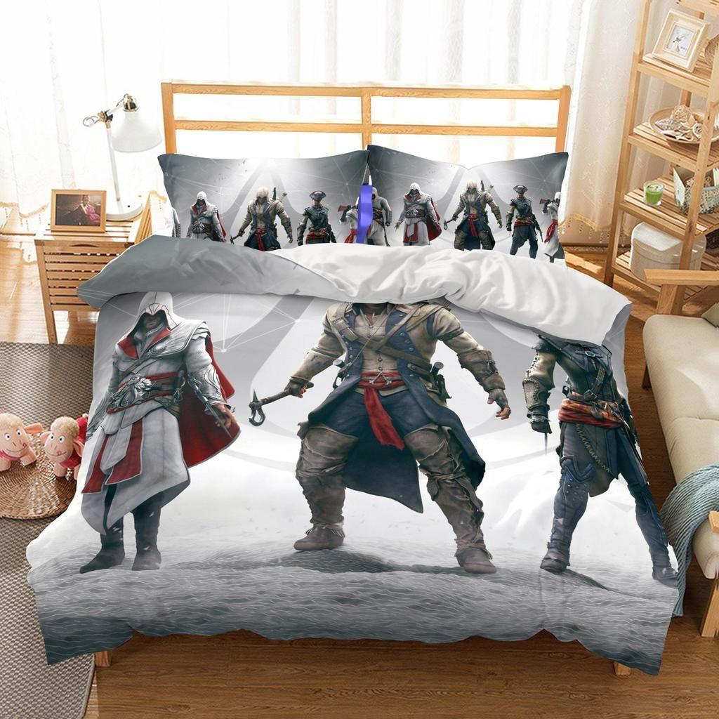 3d Game Assassin S Creed Printed Bedding Sets Duvet Cover Set