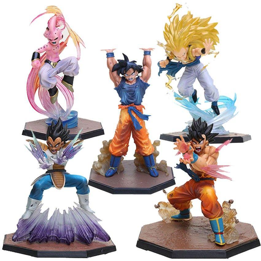 Dragon Ball Z Son Goku Vegeta Action Figure Toy Dragon Ball Z Dragon Ball Action Figures