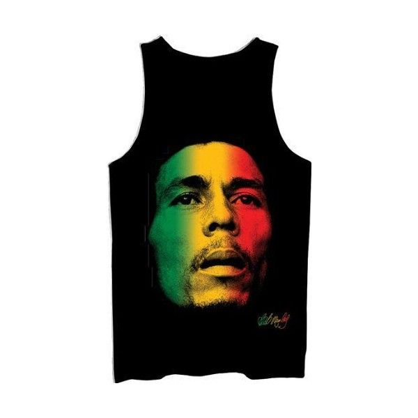 5e1477ede7274 Search  zion-mens-bob-marley-rasta-face-tank ❤ liked on Polyvore ...