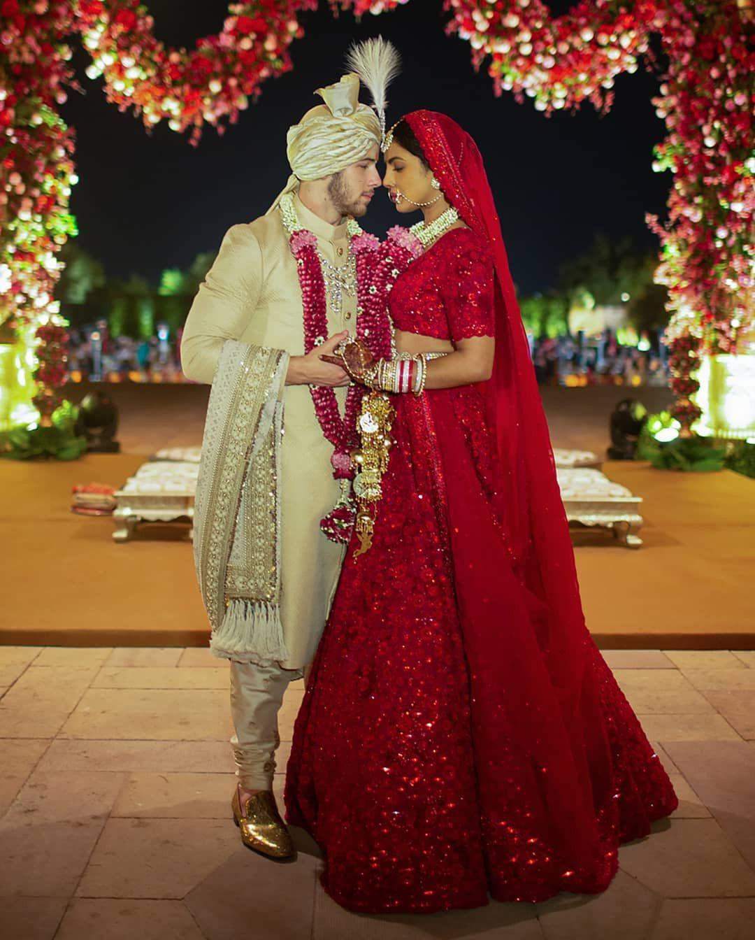 Priyanka chopra and Nick jonas Wedding - Traditional Indian ...
