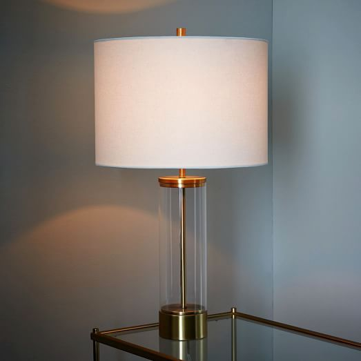 West elm acrylic column table lamp antique brass httpwww west elm acrylic column table lamp antique brass http aloadofball Image collections