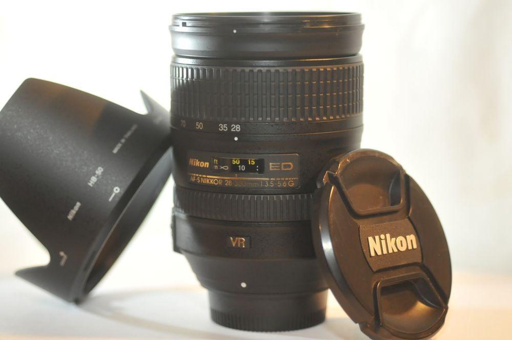 Nikon Af S Fx Nikkor 28 300mm F 3 5 5 6g Ed Vr Zoom Lens Ebay Nikon Dx Nikon Nikon D7200