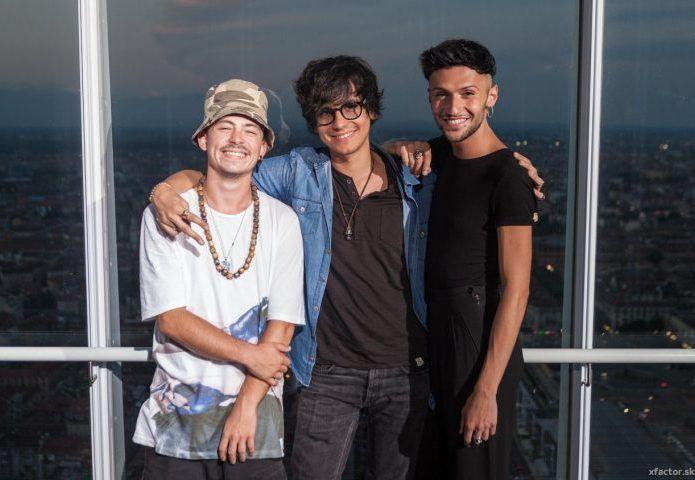 X Factor 2016 Home Visit Under Uomini - La squadra di Arisa: Marco Ferreri, Lorenzo Lumia, in arte Lommy, e Diego Conti sono gli Under Uomini di Arisa.