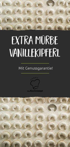 Extra Murbe Vanillekipferl Rezept In 2018 Kekse Pinterest