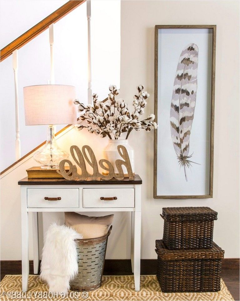 40 Interesting Ideas Small Front Entryway Decor That Will Amaze