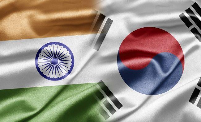 India Invites Korean Companies To Make In India South Korea Flag Angel Pictures India