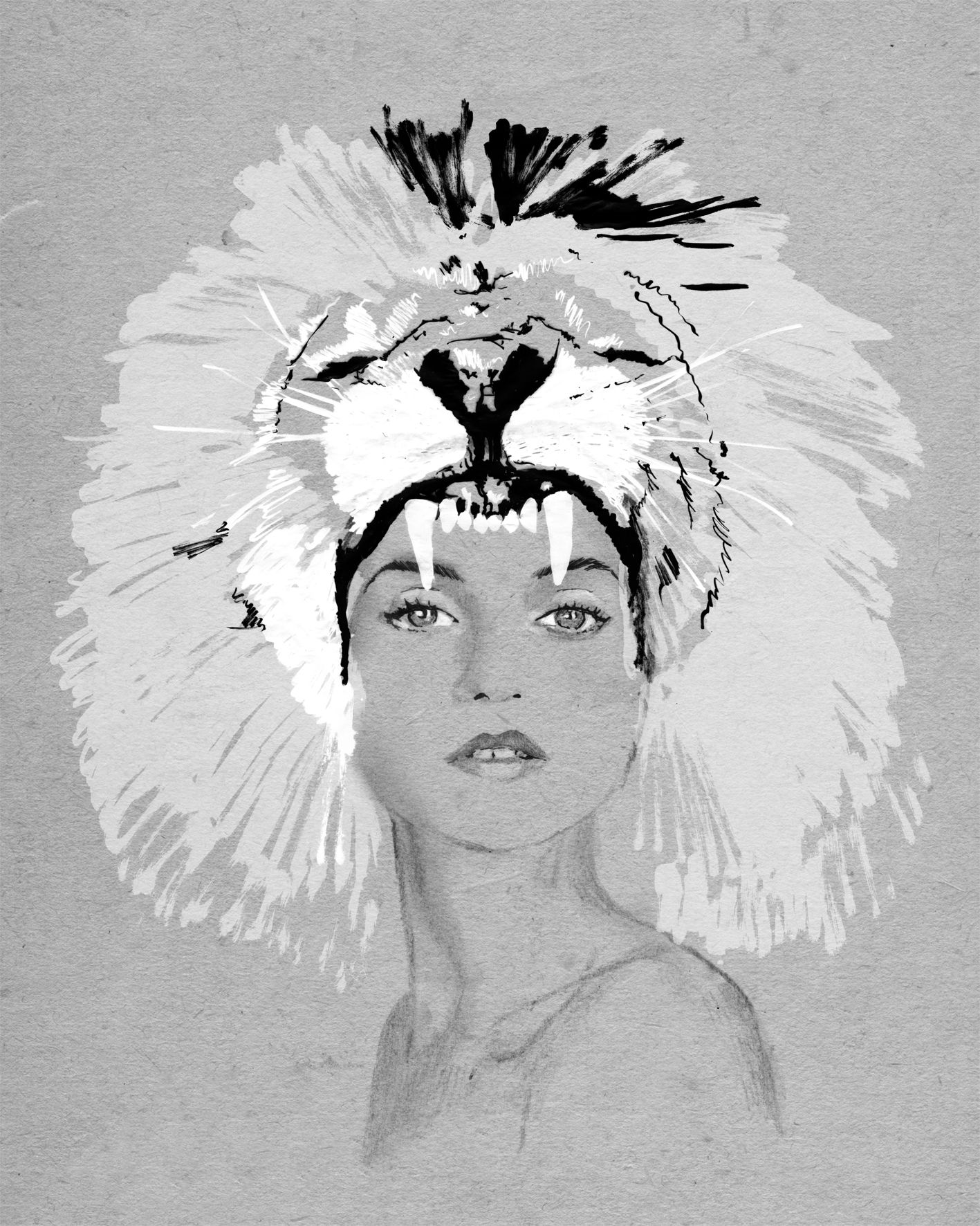 Elle Horoscopes Elle Magazine Year Horoscope Leo Illustration Work Of Milou