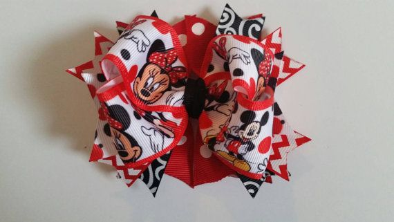 Check out this item in my Etsy shop https://www.etsy.com/listing/273538308/minnie-and-mickey-mouse-stacked