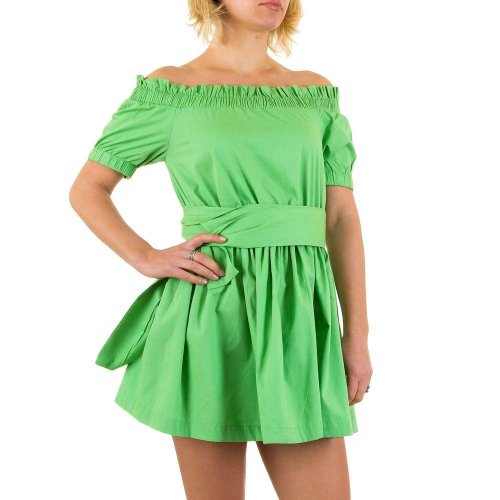 16 99 Elegantes Damen Off Shoulder Minikleid Das Sommerliche