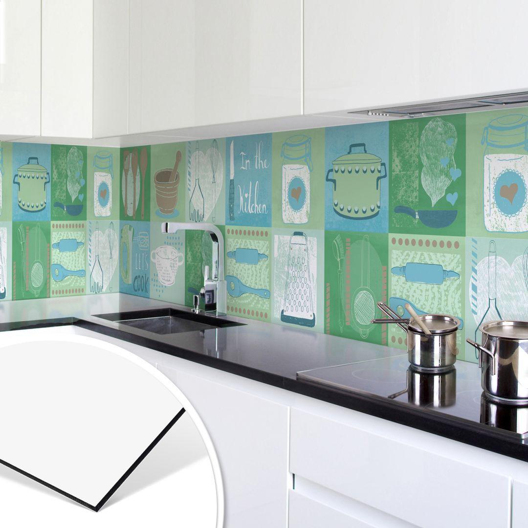 Kuchenruckwand Alu Dibond Loske In The Kitchen Fliesenspiegel Verkleiden Spritzschutz Wandverkleidung Fur Di Kuchenruckwand Fliesenspiegel Kuche Kuche
