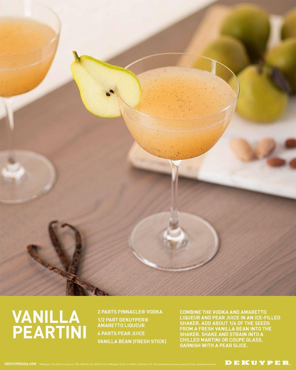 Vanilla, Food Drink, Pear Martini