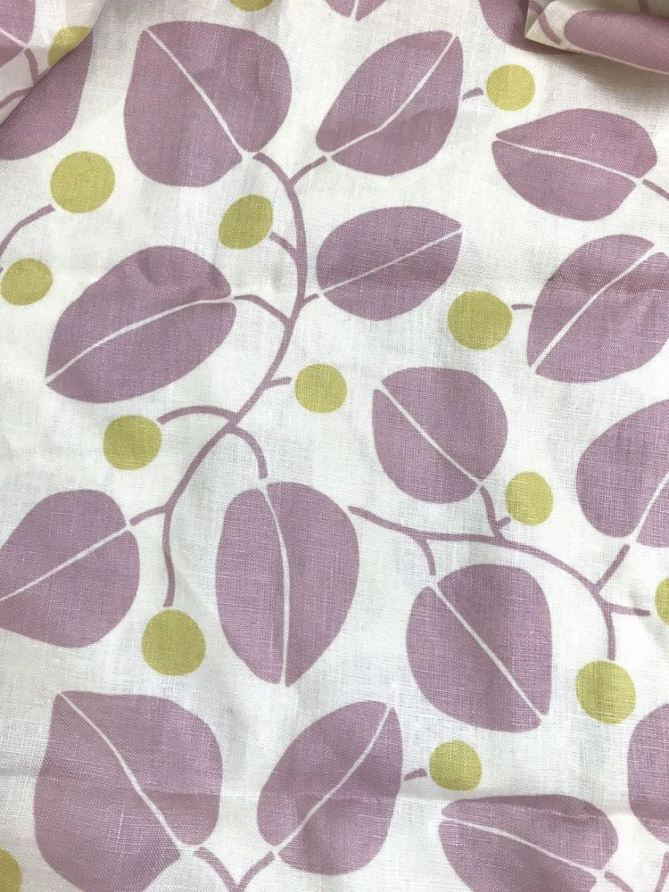 Home Decor Fabric LeavesLight Mauve56 Inches Wide175 YardsP Kaufman PKaufman