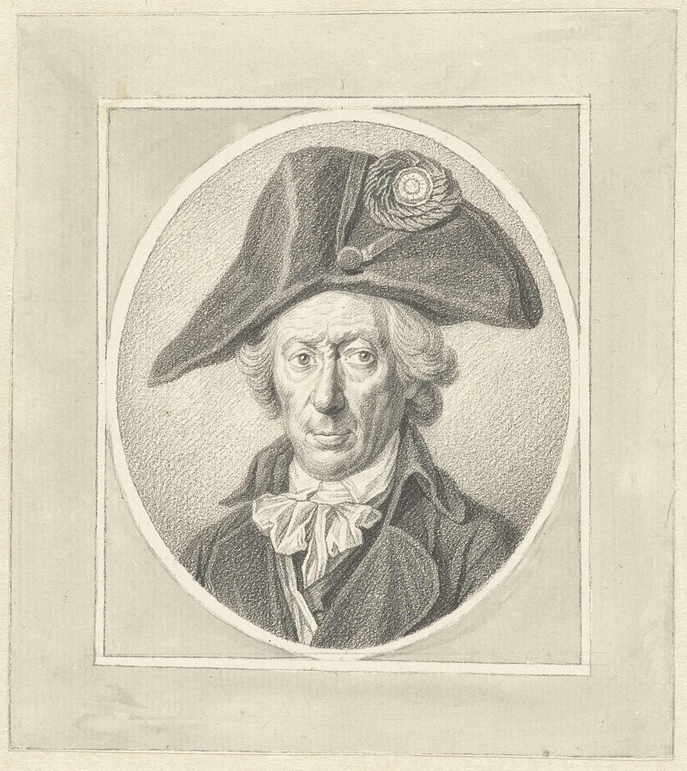 Johannes Cornelis Mertens | Portret van Hendrik Nobbe, waterbaljuw, Johannes Cornelis Mertens, 1752 - 1823 |