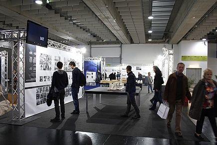 """Fakultät Architektur: Immobilienmesse """"Lebensraum 2014"""""""