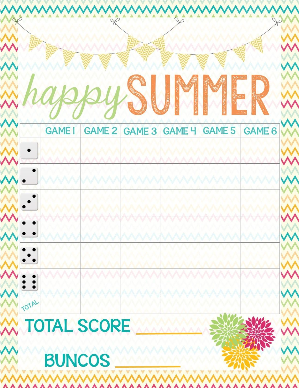 image regarding Free Printable Bunco Table Tally Sheets referred to as Recipes in opposition to Stephanie: Cost-free Bunco Rating Sheet Bunco within