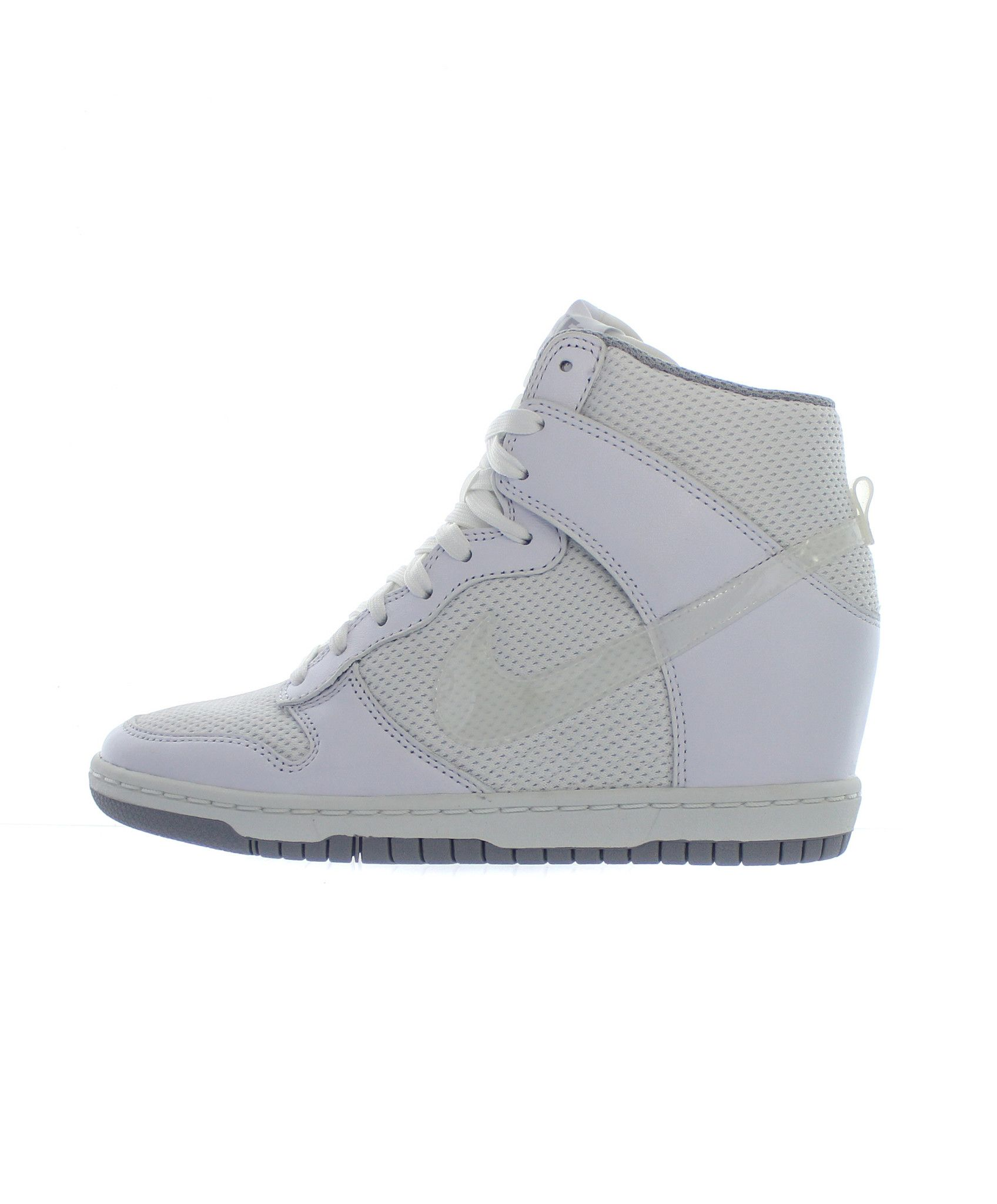 best cheap 12bef e8d9e Nike  Women s Dunk Sky Hi Essential (White White-Wolf Grey) from Extra  Butter NY
