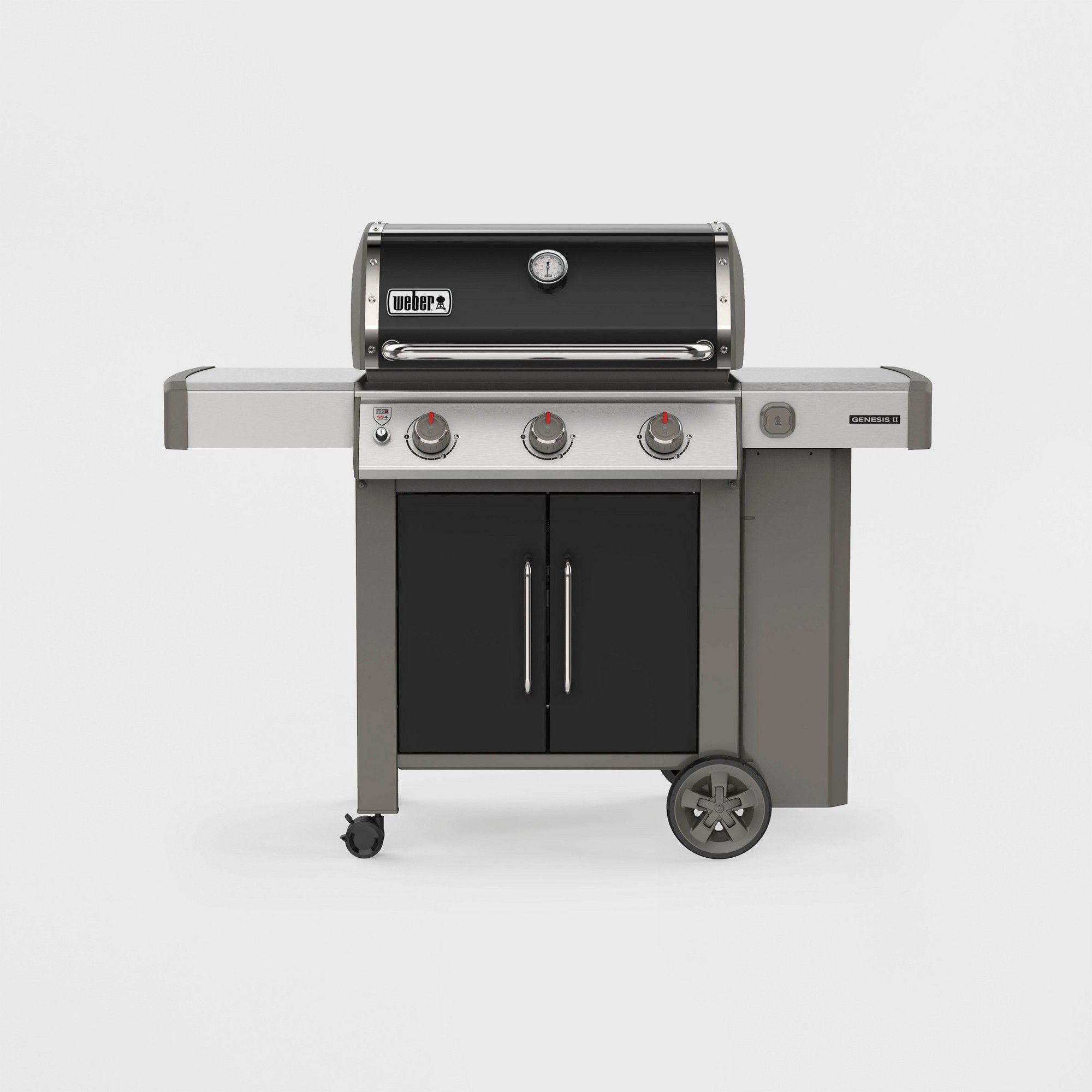 Weber Genesis Ii E 315 Lp 61015001 Black Propane Gas Grill Best Gas Grills Grilling