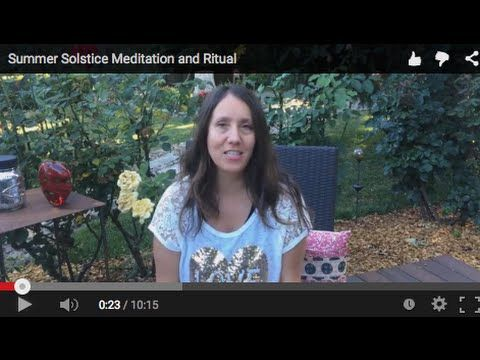 Summer Solstice Meditation & Ritual - 5 Questions to Ask Yourself Mid Year | Christine Arylo