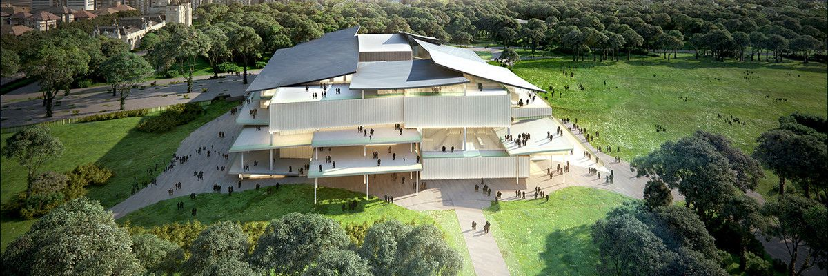 SANAA Selected to Design Hungary's New National Gallery – Ludwig Museum,© SANAA