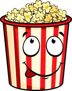 Popcorn Pipoca Desenho Doces Desenhos Sacos De Pipoca