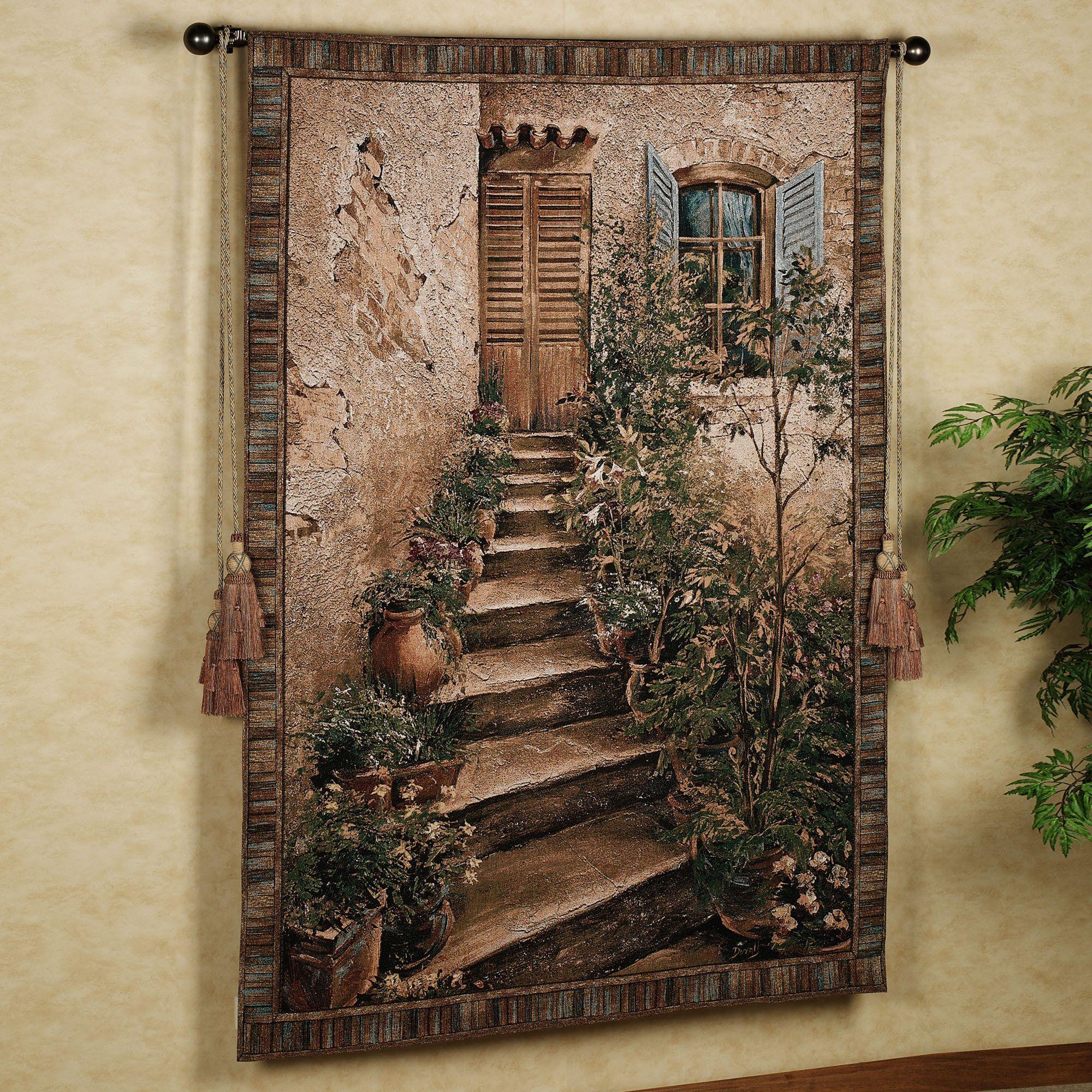 Tuscan Villa II Wall Tapestry