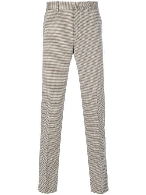 MSGM dogtooth cropped trousers Discount Wholesale Price ipqmyES