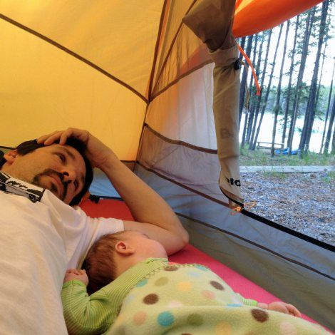 10 Tips for Camping with a Baby | The Adventures in ...