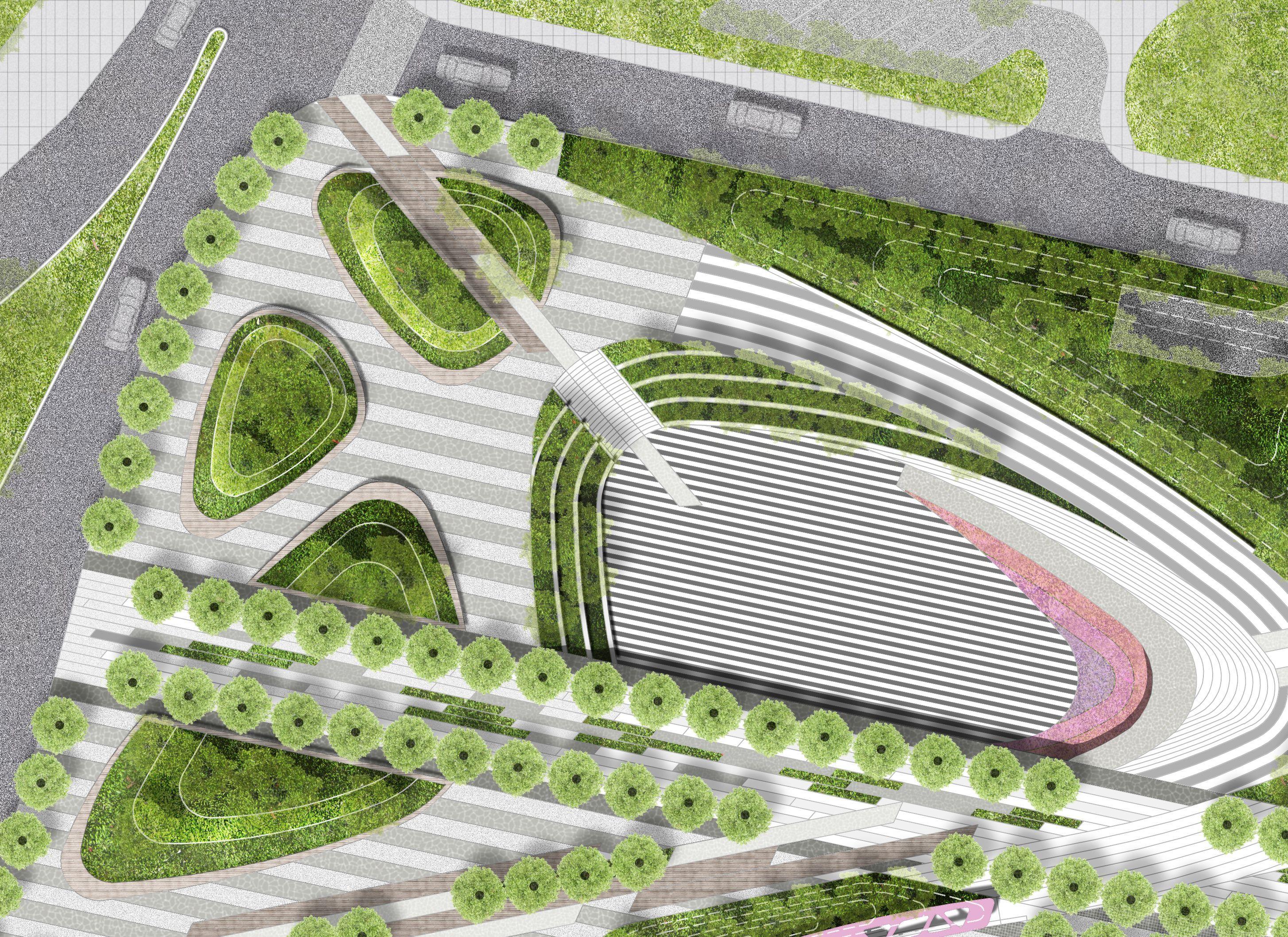 Image Result For Urban Park Landscape Design Plan Landscape Design Plans Landscape Design Site Plan Design